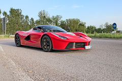 Supercar La Ferrari n Mille Miglia 2015 Stock Photo