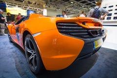 Supercar McLaren 650S Spider. Stock Image