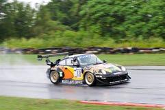 Supercar race i Pattaya, Thailand Fotografering för Bildbyråer