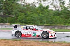 Supercar race i Pattaya, Thailand Royaltyfri Fotografi