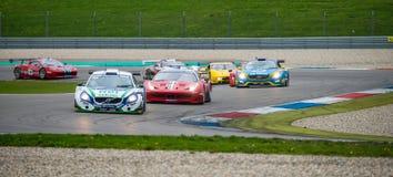 Supercar racing Stock Photos
