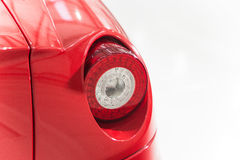 Supercar rear light detail Royalty Free Stock Images
