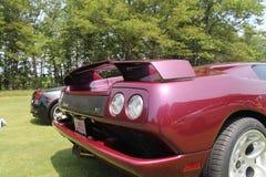 Lamborghini supercar rear Stock Image