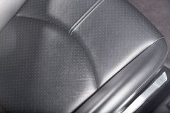 Supercar's seat detail Royalty Free Stock Photography