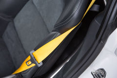 Supercar seatbelt Obraz Royalty Free