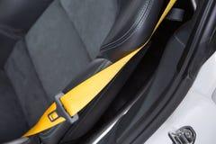 Supercar seatbelt Royalty Free Stock Image