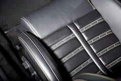 Supercar siedzenia szczegółu strzał Obraz Stock
