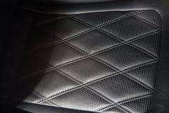 Supercar siedzenia szczegół Zdjęcia Stock