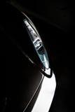 Supercar wyłania się od ciemności Obraz Royalty Free