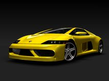 Supercar_y1 Royalty Free Stock Photos