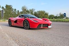 Supercarla Ferrari n Mille Miglia 2015 Stock Foto