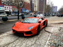 Supercarro imagem de stock royalty free