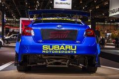 Supercarro 2019 da WTI VT19x Rallycross de Subaru WRX foto de stock