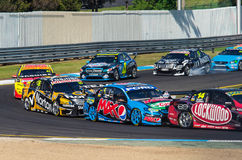Supercars de V8 chez Sandown Photos stock