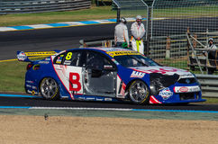 Supercars de V8 chez Sandown Photographie stock libre de droits