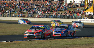 supercars v8 στοκ εικόνες