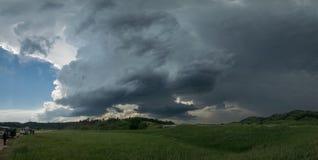 Supercell over de Zwarte Heuvels in Zuid-Dakota stock afbeelding