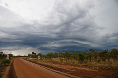 Supercell Storm - Australia Stock Photo