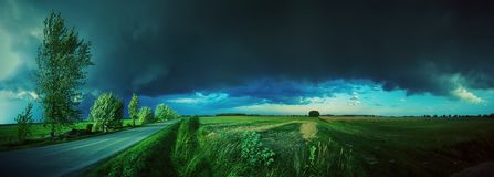 Supercell storm Royalty Free Stock Photography
