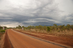 Supercell Storm Formation - Australia Royalty Free Stock Photo