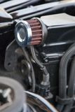 Supercharged car engine Stock Image