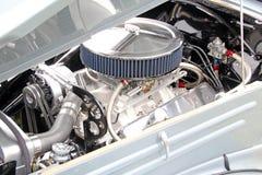 Supercharged ha cromato il motore di sport Immagine Stock Libera da Diritti