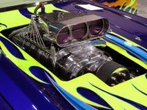 Supercharger de Corveta Fotografia de Stock Royalty Free