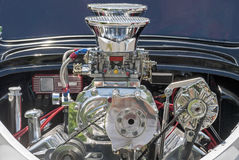 Supercharger in a rear engine Stock Photos