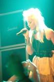 superchick ведущего певца Стоковое фото RF