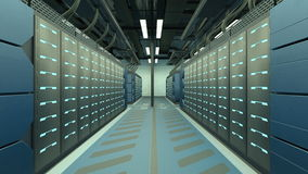 Supercomputing Center Stock Photo