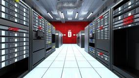Supercomputing Centrum Stock Afbeelding