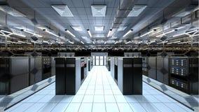 Supercomputing Centrum Stock Afbeeldingen