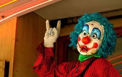 The supercool clown Stock Photos