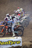 Supercross Royalty Free Stock Photos