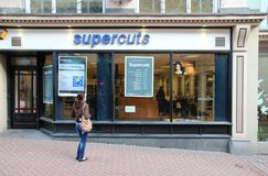 Supercuts hair salon Royalty Free Stock Photography
