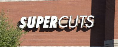 Supercuts Hair Salon Sign Royalty Free Stock Photos