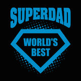 Superdad logo superhero World& x27;s best Stock Photos