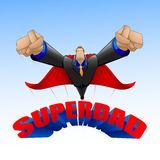 Superdad Stock Photo