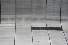 新奥尔良外面Superdome墙壁 免版税库存图片