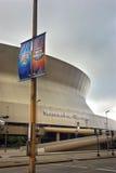 路易斯安那Superdome 免版税库存图片