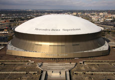 Superdome in New Orleans Lizenzfreies Stockbild
