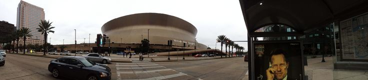 SUPERDOME RUST stock fotografie