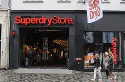 SUPERDRY sklep Obraz Stock