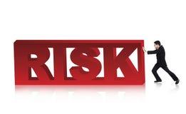 Supere o risco de negócio Fotografia de Stock Royalty Free