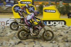 Superenduro race Stock Photography