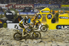 Superenduro race Royalty Free Stock Image
