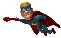 Supereroe biondo Fotografie Stock