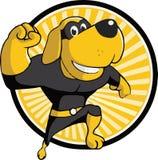 Supereroe del cane illustrazione vettoriale