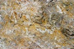 Superfície áspera da rocha Foto de Stock Royalty Free