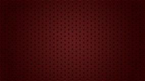 Superfície abstrata do teste padrão que forma cubos, estrelas, hexágonos ilustração do vetor